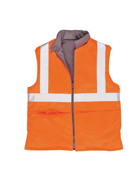 Hi Vis Reversible Bodywarmer GO RT