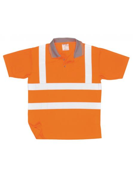 Hi Vis Short Sleeved Polo Shirt GO RT