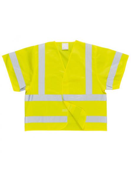 Hi Vis Short Sleeved Vest