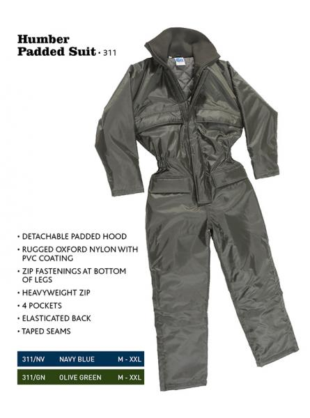 Humber Padded Suit