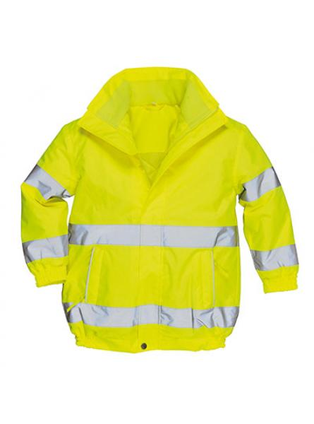 Lined Junior Hi Vis Jacket