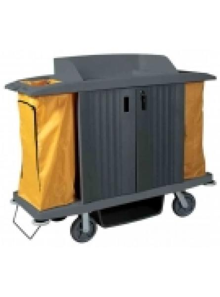 Plastic Hotel And Service Trolley Grey 44kgs