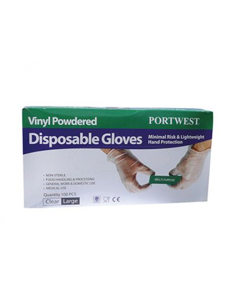 Powdered Vinyl Disposable Glove