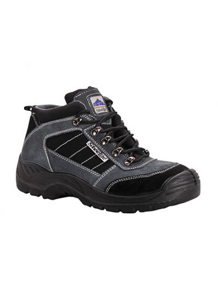 S1P mid cut hiker boot with steel toecap and midsole