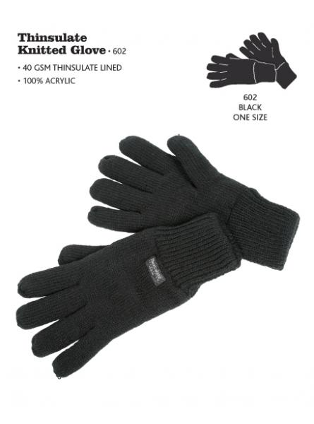 T L Lined Knitted Glove