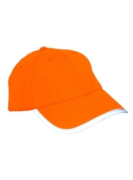 Hi Vis Orange Baseball Cap