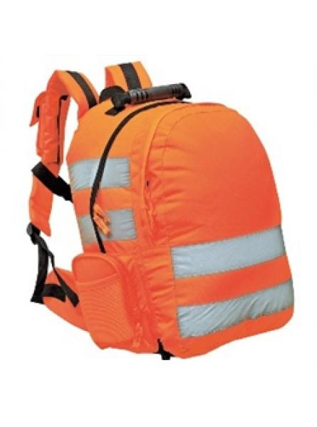 Hi Vis Orange Quick Release Rucksack