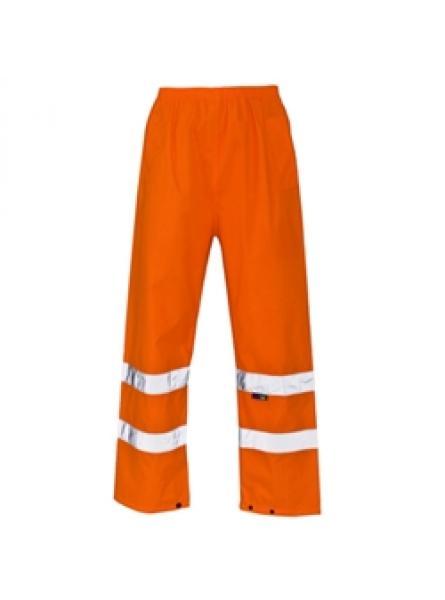 Hi Vis Orange Waterproof Standard Over Trousers