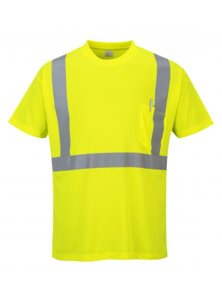 Hi-Vis Pocket T-Shirt (IKP4634)