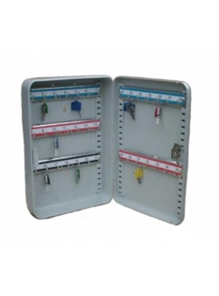 Key Cabinet with 35 Key Hooks