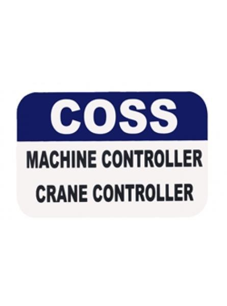 MultiBand COSS/Machine & Crane Controller Insert