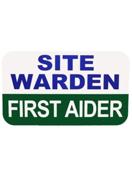 MultiBand Site Warden/First Aider Insert
