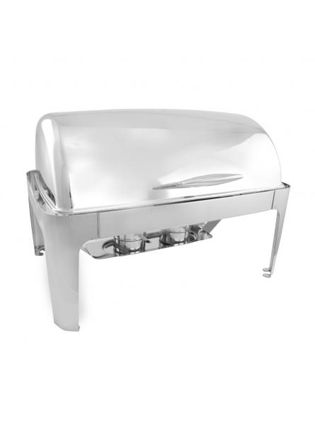 Chafing Dish With Rolling Top  63x44cm (2x4L) Double  (7231B)