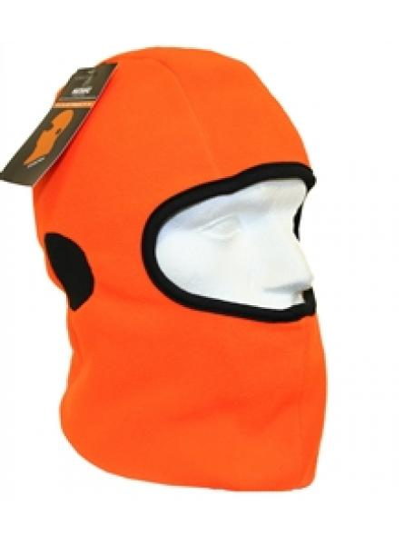Orange Thinsulate Rail Balaclava With Ear Mesh