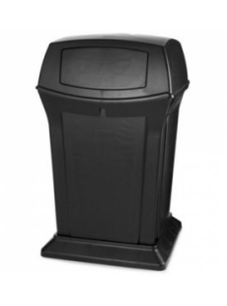 RANGER CONTAINER 2 DOOR BLACK 170 LITRES