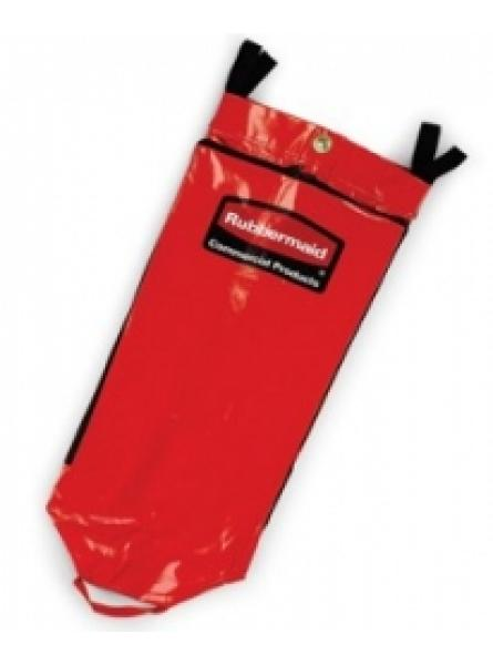 Recycling Bag for Triple Cart Red