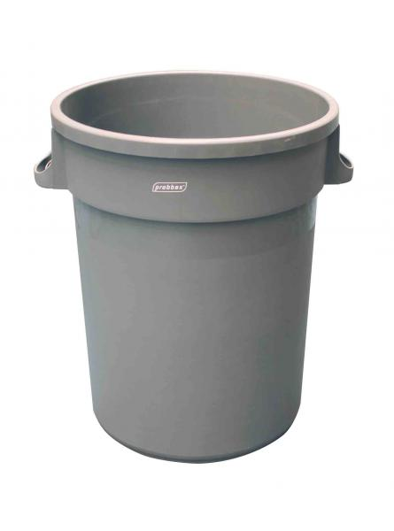 ROUND CONTAINER 120L-31 2/3GAL GREY