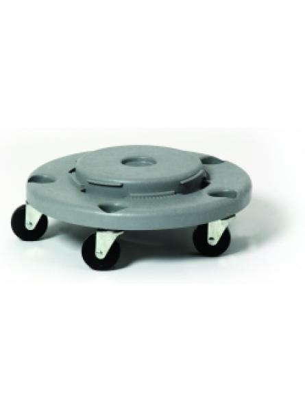 ROUND DOLLY FITS RC-1003 4 CASTORS GREY