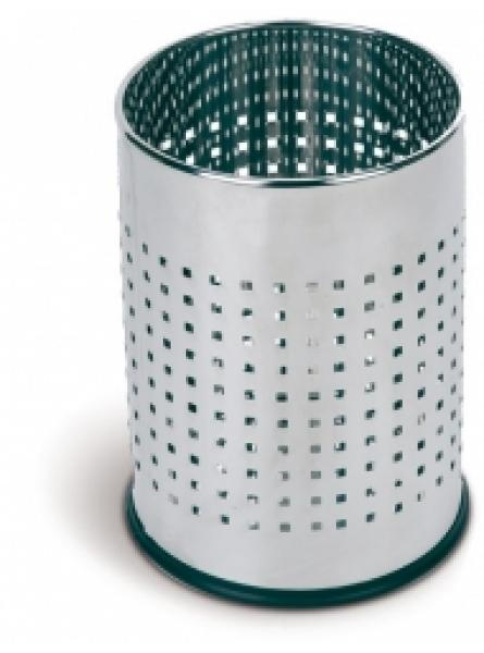 Round Waste Basket 10l Mirror Stainless Steel