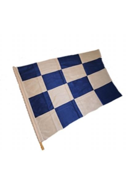 Signal Flag - Blue/White