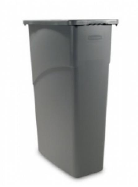 Slim Jim Waste Container Grey