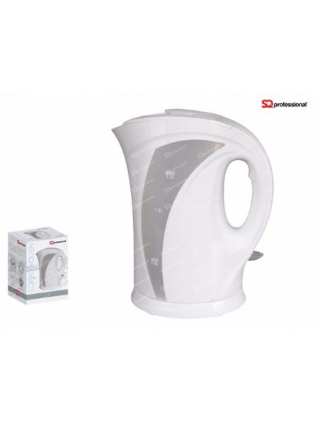 SQPRO Professional AquenElectric Cordless  Kettle Fast Boil 1.7L 2200W. WHITE.