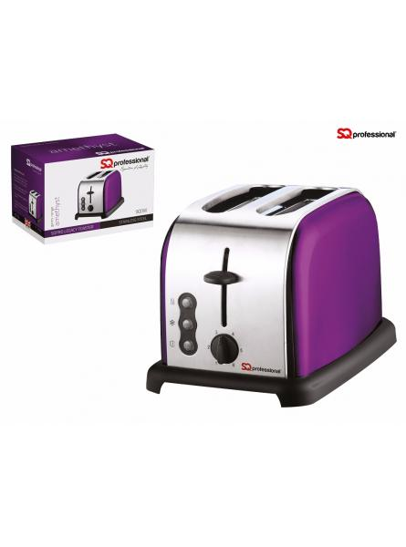 SQPRO STAINLESS STILL LEGACY TOASTER, AMETHYST
