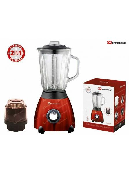 SQPRO ULTIMATE BLENDER & GRINDER,RUBY.