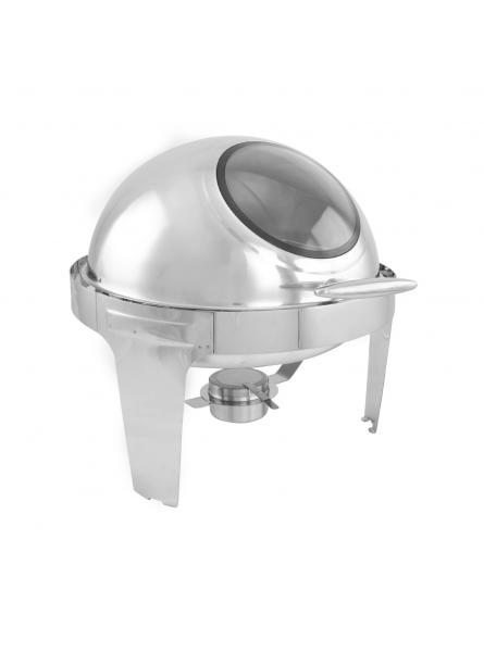 Chafing Dish With Rolling Top And Window 63x44cm (8L) Single (723A)