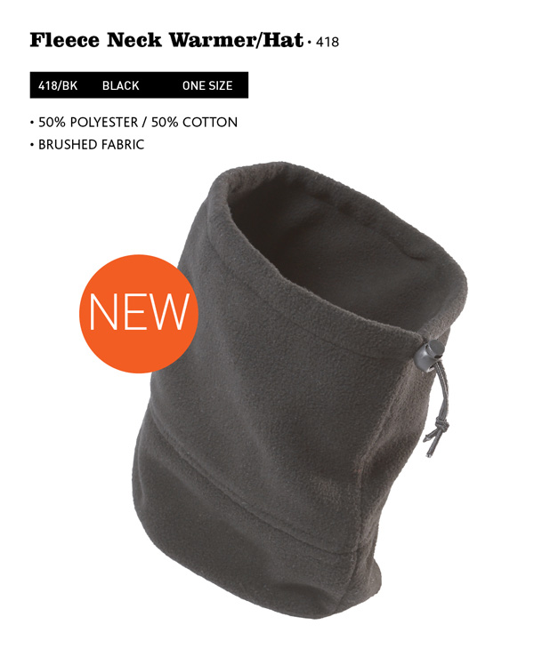 Fleece Neck Warmer Hat NEW LINE () 0f8f821ac40b2